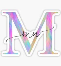 Mu Sticker