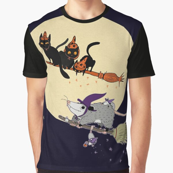 Witches' Familiar? Graphic T-Shirt