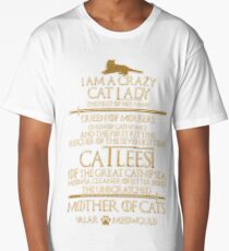 Mother Of Cats. Catleesi  Long T-Shirt
