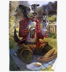 Vin picnic Poster