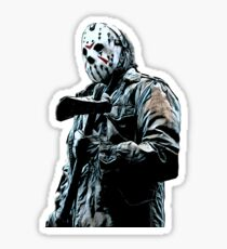 Friday the 13th- Jason Voorhees Sticker