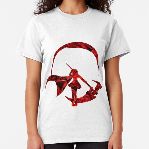 Ruby Rose Roses Silhouette Classic T-Shirt
