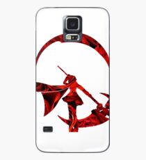 Ruby Rose Roses Silhouette Case/Skin for Samsung Galaxy