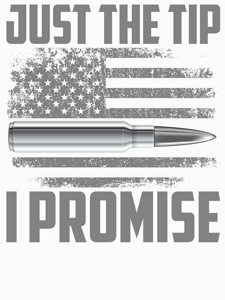 Veteran Just The Tip I Promise flag american by bestdesign4u