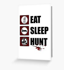 Hunt a Killer 2 Greeting Card