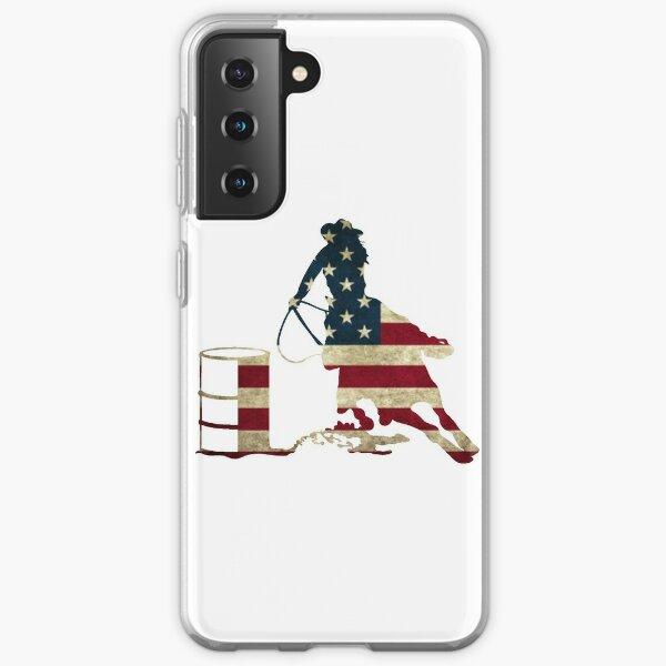 USA Barrel Racing Samsung Galaxy Soft Case
