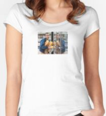 Eleven Steals Waffles Women's Fitted Scoop T-Shirt