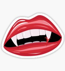 Vampire lips 2 Sticker