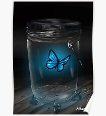 Butterfly Jar Poster