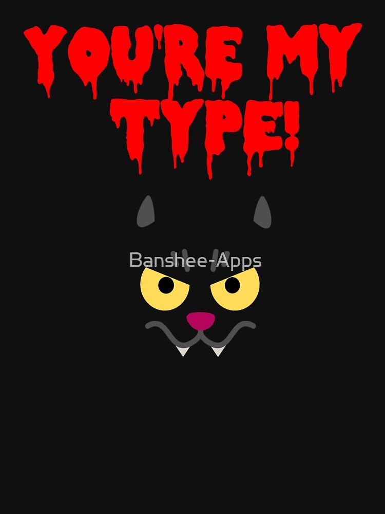 Funny Cat Vampire Design! by Banshee-Apps