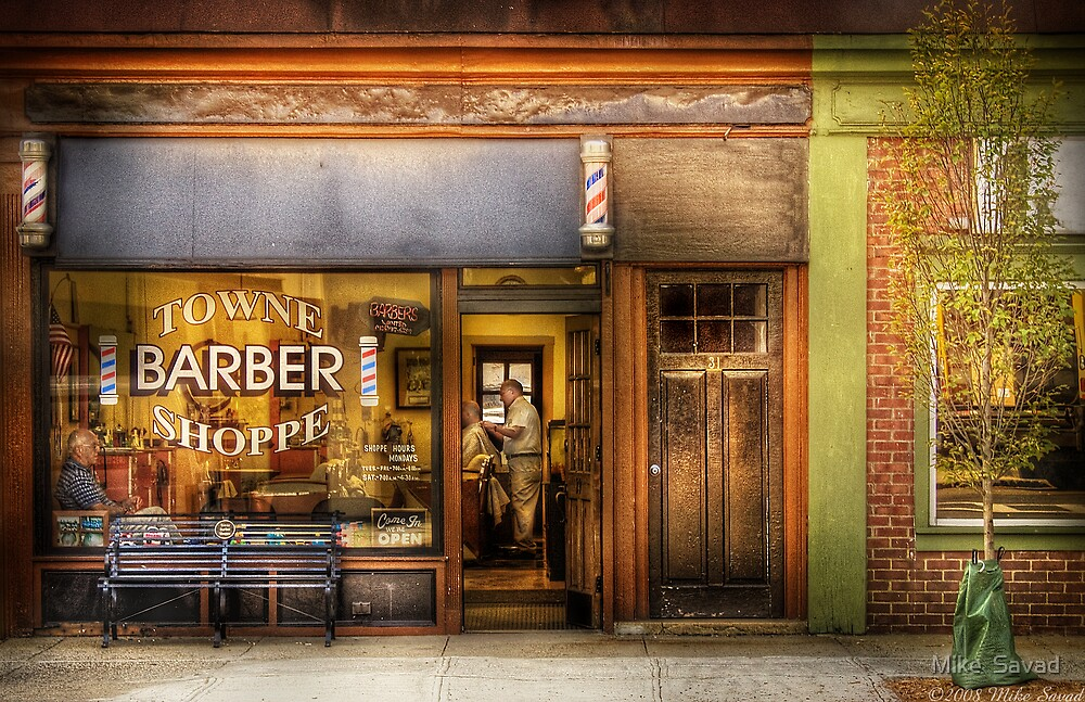 Towne Barber Shoppe by Michael Savad