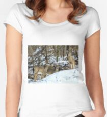 The Furry Family  Women's Fitted Scoop T-Shirt