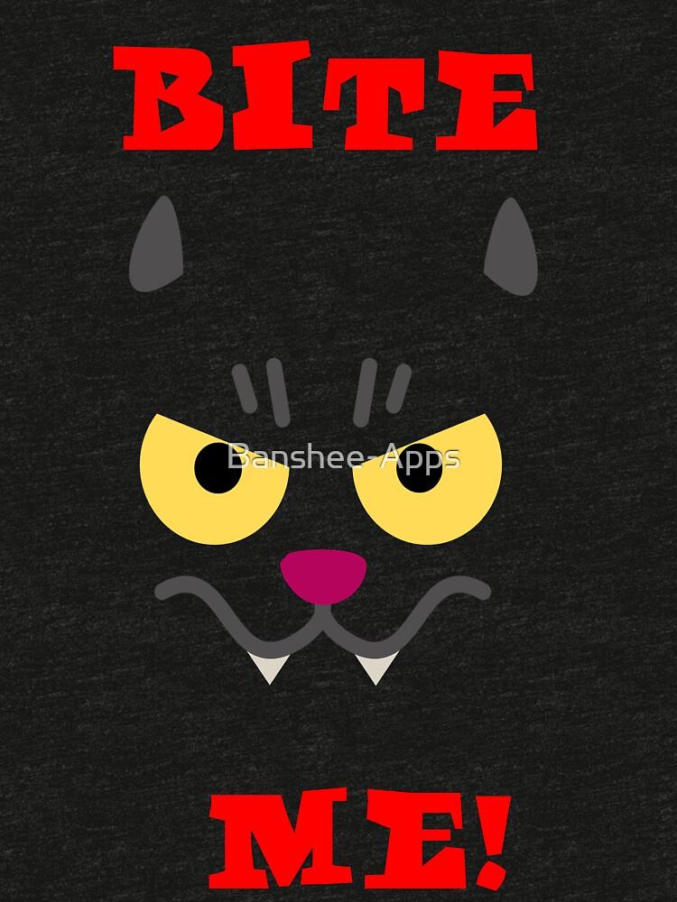 Vampire Cat tshirt by Banshee-Apps