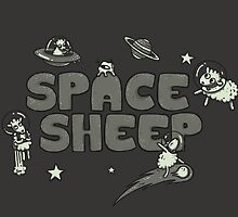 Space Sheep by Lili Batista