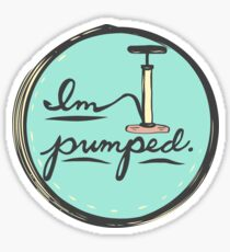 I'm Pumped Bike Sticker Sticker