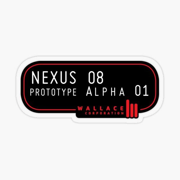 Nexus 08 Transparent Sticker