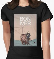 bon iver - More than fashion or brand labels, I love design. T-Shirt