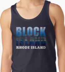 Block Island, Rhode Island Background Tank Top