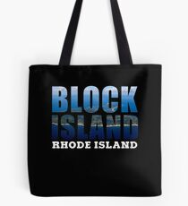 Block Island, Rhode Island Background Tote Bag