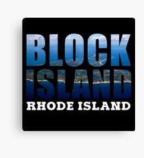 Block Island, Rhode Island Background Canvas Print