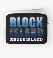 Block Island, Rhode Island Background Laptop Sleeve