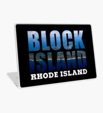 Block Island, Rhode Island Background Laptop Skin