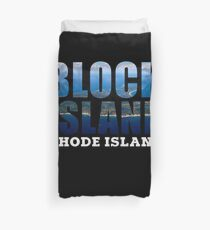 Block Island, Rhode Island Background Duvet Cover