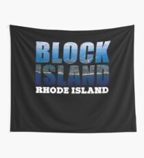 Block Island, Rhode Island Background Wall Tapestry