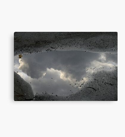 Reflections Of This Today Canvas Print