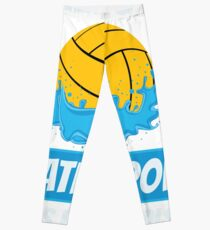 Silly Boys Water Polo Is For Girls Leggings