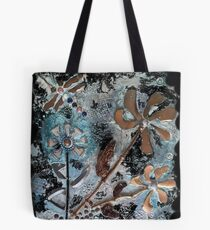 STEAMPUNK FLOWERS Tote Bag