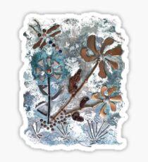 STEAMPUNK FLOWERS Sticker