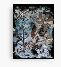 STEAMPUNK FLOWERS Canvas Print