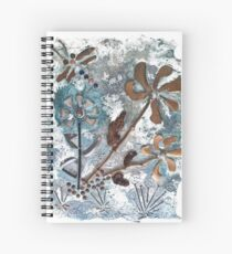 STEAMPUNK FLOWERS Spiral Notebook
