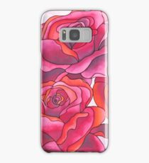 Roses are red, my love Samsung Galaxy Case/Skin