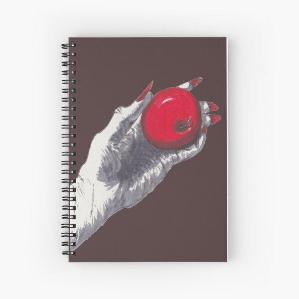 Halloween Witch Poison Apple Spiral Notebook
