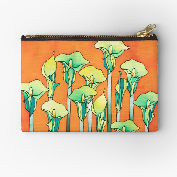 A bouquet of Lilies for you! Zipper Pouch
