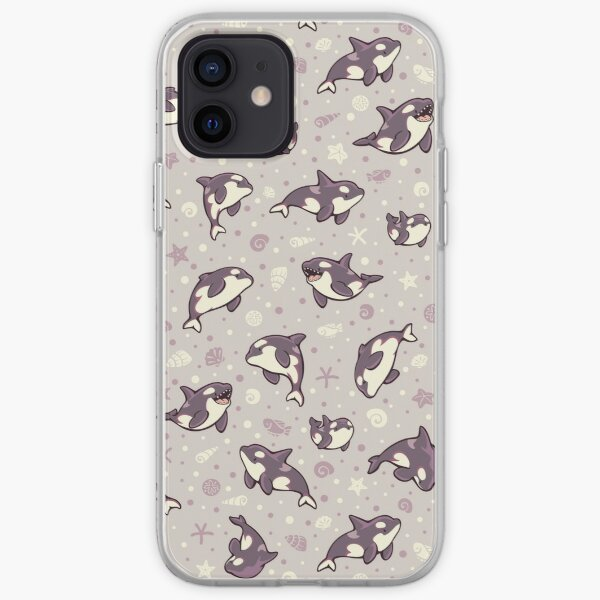 Jelly bean orcas  iPhone Soft Case