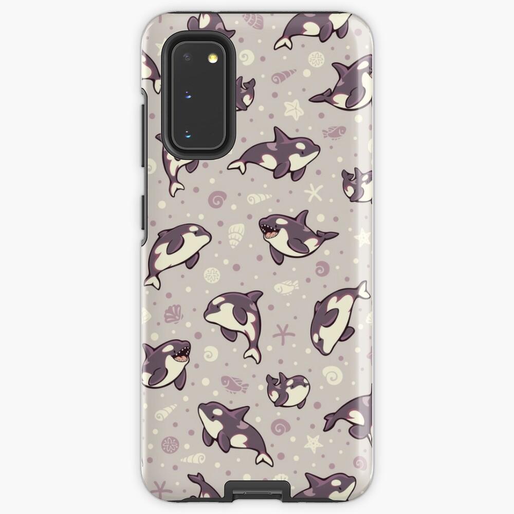 Jelly bean orcas  Case & Skin for Samsung Galaxy