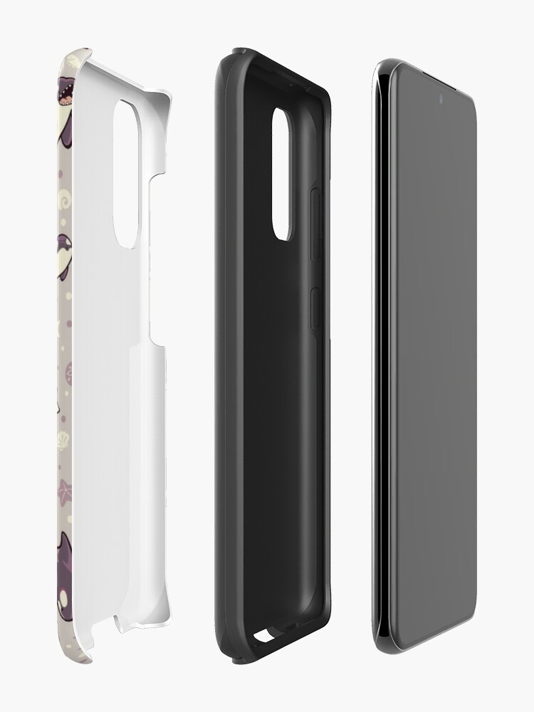 Alternate view of Jelly bean orcas  Case & Skin for Samsung Galaxy