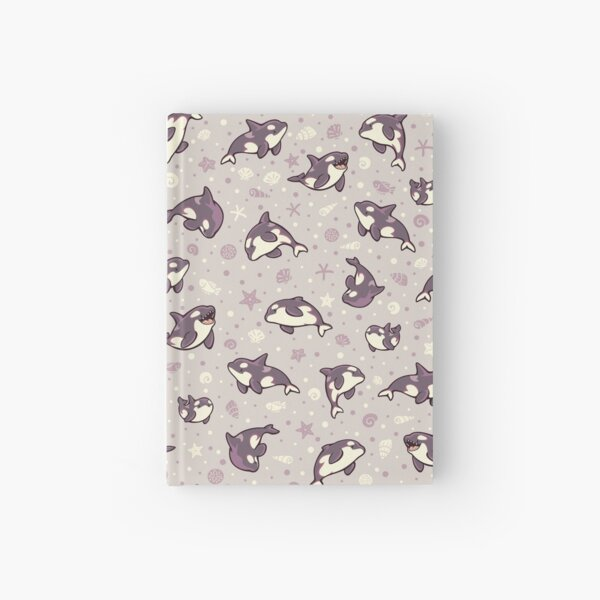 Jelly bean orcas  Hardcover Journal