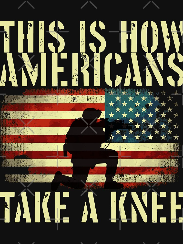 This is how Americans take a knee by ip7s