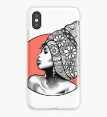 Tribal Head Piece iPhone Case/Skin