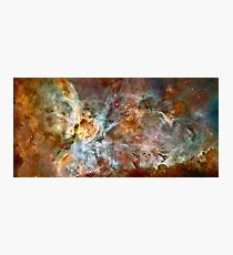 Hubble Space Telescope Print 0023 - The Carina Nebula - hs-2007-16-a-full_jpg Photographic Print