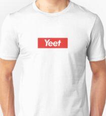 Yeet/Supreme Logo Parody Unisex T-Shirt