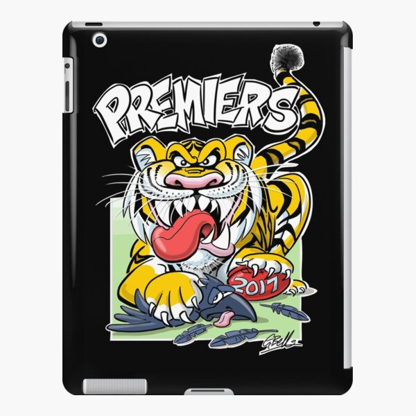 AFL Tigers 2017 - 'We smashed 'em' in black iPad Snap Case