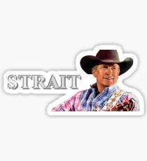 George Strait Sticker Sticker