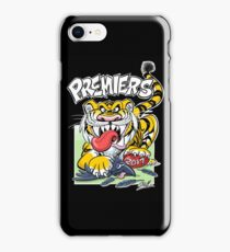 AFL Tigers 2017 - 'We smashed 'em' in black iPhone Case/Skin