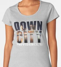 Downcity Providence, Rhode Island Women's Premium T-Shirt