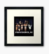 Downcity Providence, Rhode Island Framed Print